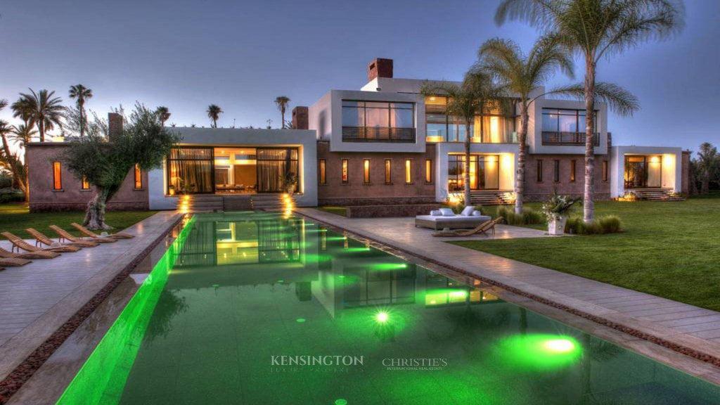 achat villa marrakech avec kensington morocco. Black Bedroom Furniture Sets. Home Design Ideas